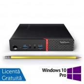 Calculator Mini PC Lenovo ThinkCentre M700, Intel Core i3-6100T 3.20GHz, 8GB DDR4, 120GB SSD + Windows 10 Pro, Refurbished Calculatoare Refurbished