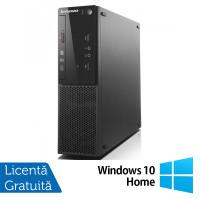Calculator Lenovo ThinkCentre S500 SFF, Intel Core i5-4460S 2.90GHz, 4GB DDR3, 500GB SATA + Windows 10 Home