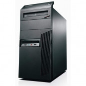 Calculator Lenovo ThinkCentre M82 Tower, Intel Core i7-3770 3.40GHz, 8GB DDR3, 120GB SSD, DVD-ROM, Second Hand Calculatoare Second Hand