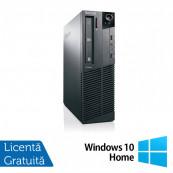 Calculator Lenovo Thinkcentre M83 SFF, Intel Pentium G3220 3.00GHz, 4GB DDR3, 500GB SATA, DVD-ROM + Windows 10 Home, Refurbished Calculatoare Refurbished