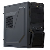 Sistem PC Interlink, Intel Celeron G1610 2.60GHz, 8GB DDR3, 240GB SSD + 2TB SATA, Radeon RX580 8GB, DVD-RW, CADOU Tastatura + Mouse Calculatoare Noi