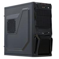 Sistem PC Interlink, Intel Core I3-2100 3.10 GHz, 8GB DDR3, 120GB SSD, Placa video RX 580 8GB GDDR5, DVD-RW, CADOU Mouse + Tastatura