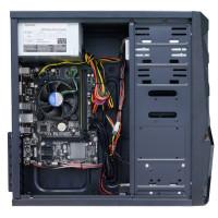 Sistem PC Interlink, Intel Core i3-4130 3.40GHz, 8GB DDR3, 120GB SSD + 2TB SATA, Placa Video AMD Radeon RX 550 4GB GDDR5, DVD-RW, Cadou Tastatura + Mouse