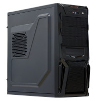 Sistem PC Interlink, Intel Core i7-3770 3.40GHz, 8GB DDR3, 240GB SSD + 500GB HDD, RADEON RX 550 4GB, DVD-RW