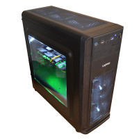 Sistem PC New Gaming RDR2, Intel Core i5-10400F 6-Core 2.90GHz-4.30GHz, 16GB DDR4, SSD 512GB + 4TB HDD SATA, DVD-RW LG, INNO3D GeForce GTX 1660 Super TWIN X2 OC RGB 6GB GDDR6
