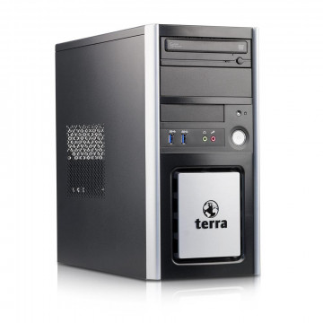 Calculator TERRA Tower, Intel Pentium G3220 3.00GHz, 4GB DDR3, 250GB SATA, DVD-ROM, Second Hand Calculatoare Second Hand