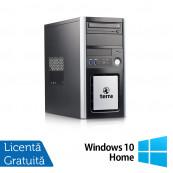 Calculator TERRA Tower, Intel Pentium G3220 3.00GHz, 4GB DDR3, 250GB SATA, DVD-ROM + Windows 10 Home, Refurbished Calculatoare Refurbished