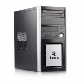 Calculator TERRA Tower, Intel Core i3-4130 3.40GHz, 8GB DDR3, 120GB SSD, DVD-ROM, Second Hand Intel Core i3