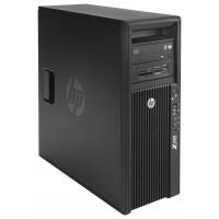 Gaming Workstation HP Z420, CPU Intel Xeon E5-2620 V2 2.10GHz-2.60GHz HEXA Core, 32GB DDR3 ECC, SSD 240GB + 2TB HDD, nVidia GeForce GTX 1050/2GB 128biti + Windows 10 Pro 64 biti