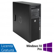 Workstation HP Z420, CPU Intel Xeon E5-1603 2.80GHz Quad Core, 16GB DDR3 ECC, 240GB SDD,  nVidia Quadro K2000/2GB GDDR5, DVD-RW + Windows 10 Pro, Refurbished Workstation