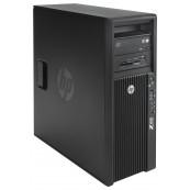Workstation HP Z420, CPU Intel Xeon E5-1603 2.80GHz Quad Core, 16GB DDR3 ECC, 240GB SDD, Placa video Gaming AMD Radeon R7 350 4GB GDDR5 128-Bit, DVD-RW, Second Hand Workstation