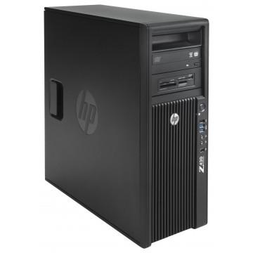 Workstation HP Z420, Intel Xeon Quad Core E5-1620 3.60GHz, 16GB DDR3 ECC, 240GB SDD, Placa video Gaming AMD Radeon R7 350 4GB GDDR5 128-Bit, DVD-RW, Second Hand Workstation