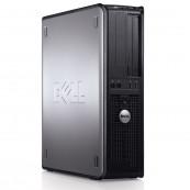 Calculator DELL 780 SFF, Intel Core2 Duo E8400 3.00GHz, 4GB DDR3, 250GB SATA, DVD-RW Calculatoare Second Hand