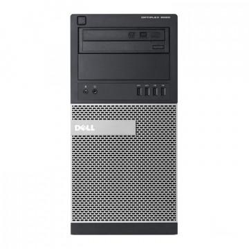 Calculator DELL 9020 Tower, Intel Core i5-4570 3.20GHz, 4GB DDR3, 500GB SATA, DVD-ROM Calculatoare Second Hand