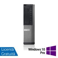 Calculator DELL OptiPlex 7010 Desktop, Intel Core i3-3220 3.30GHz, 4GB DDR3, 250GB SATA, DVD-ROM + Windows 10 Pro