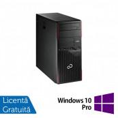 Calculator FUJITSU SIEMENS Esprimo P700 Tower, Intel Core i5-2400 3.10GHz, 4GB DDR3, 320GB SATA, DVD-ROM + Windows 10 Pro Calculatoare Refurbished