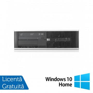 Calculator HP 6300 SFF, Intel Core i3-2100 3.10GHz, 4GB DDR3, 250GB SATA, DVD-ROM + Windows 10 Home Calculatoare Refurbished