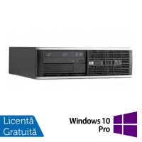 Calculator HP 8300 SFF, Intel Core i3-3220 Gen 3, 3.3 Ghz, 4GB DDR3, 500GB, DVD-RW + Windows 10 Pro