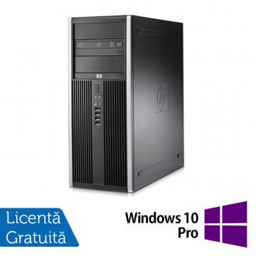 Calculator HP Compaq 8000 Elite Tower, Intel Core2 Duo E7500, 2.93 GHz, 4 GB DDR 3, 250GB SATA, DVD-RW + Windows 10 Pro Calculatoare Refurbished