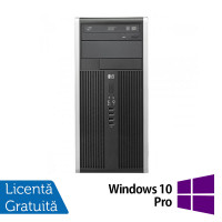 Calculator HP Compaq 8300 Tower, Intel Core i3-3220, 3.20 GHz, 4GB DDR3, 250GB SATA, DVD-RW + Windows 10 Pro