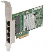 Placa de retea HP Intel Quad Port PCI-e Full Height Gigabit NC365T PCI-E x4, Second Hand Componente Server