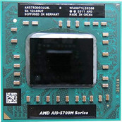 Procesor Laptop AMD A10-5750M 2.50GHz, 4 nuclee si 4 thread-uri, 2 x 2MB Cache, Second Hand Componente Laptop