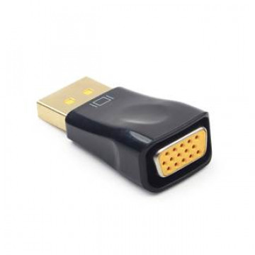 Mufa ADAPTOR GEMBIRD DisplayPort la VGA (T/M), A-DPM-VGAF-01 Componente Calculator