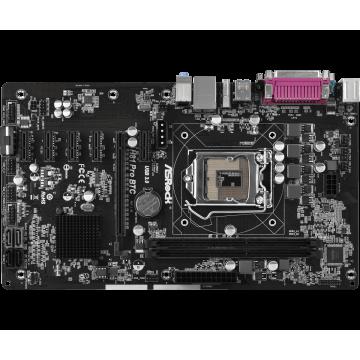 Pachet Placa de baza AsRock H81 Pro BTC R2.0, Socket 1150 + Intel G3260 3.30GHz, 3MB Cache + Cooler Intel, Second Hand Componente Calculator