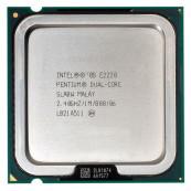 Procesor Intel Pentium Dual Core E2220 2.40GHz, 1MB Cache, Socket LGA775, Second Hand Componente Calculator