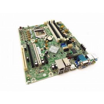 Placa de baza pentru HP 8200 SFF, Model 611834-001, Socket 1155, Fara shield, Second Hand Componente Calculator