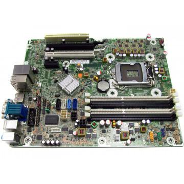 Placa de baza HP Elite 8200 SFF, Model 61183-001, DDR3, Socket 1155, Fara Shield, Second Hand Componente Calculator