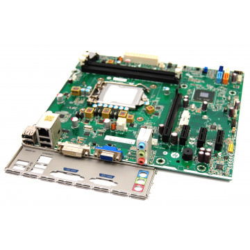 Placa de baza HP Socket 1155, Pentru calculator HP Pro 3400 Tower, Cu shield si cooler, Second Hand Componente Calculator