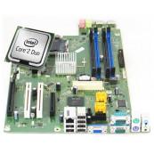 Placa de baza pentru Fujitsu Esprimo E7936, model D3028 A10 GS3, Socket 775, Fara shield + Procesor Intel Core2 Duo E8400 3.00GHz, Second Hand Componente Calculator