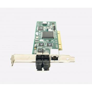 Placa retea PCI  32Bit UTP & Fibra, AT-2451FTX 10/100TX, High Profile