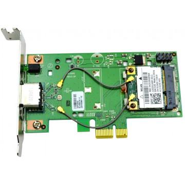 Placa de retea Wi-Fi Dell DW1530, 108Mbps, Dual Band, Low Profile, Second Hand Placi de Retea