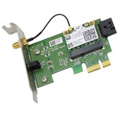 Placa retea wireless, o antena, slot PCI-E X1, low profile pentru SFF, diverse modele, second hand