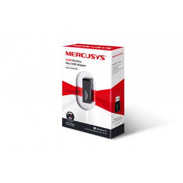 Mini adaptor wireless Mercusys MW300UM, 300Mbps, USB Componente Calculator
