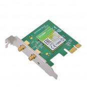 Placa retea wireless, 2 antene, slot PCI-E X1, low profile pentru SFF, diverse modele