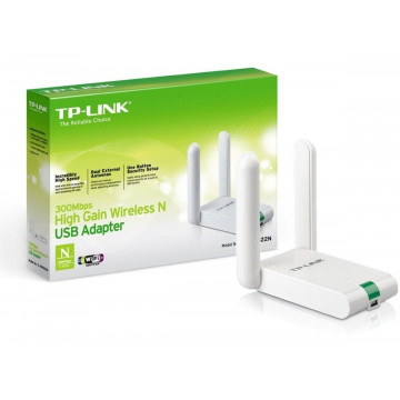 Adaptor wireless TP-LINK TL-WN822N, 300 MBps, USB Componente Calculator