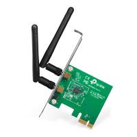 PLACA RETEA TP-LINK Wireless TL-WN881ND, PCI-E, 2 antene detasabile, 300Mbps, 2.4GHz, Bracket Low + High Profile
