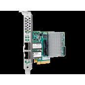 Placa de retea server HPE NC523SFP 10Gb 2-port, Low profile, Second Hand Componente Server