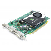 Placa video Nvidia Quadro FX 570, 256MB DDR2, 2 x DVI, Second Hand Componente Calculator