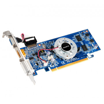 Placa video GIGABYTE EN8400GS, PCI Express 2.0, 512 MB DDR2, Second Hand Componente Calculator