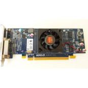 Placa video PCI-E ATI Radeon Card 6350 512MB, Low Profile + Cablu DMS-59 cu doua iesiri VGA Componente Calculator