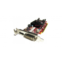 Placa Video Radeon HD 7350, 512MB GDDR3, 64 bit, DVI, Display Port, Low Profile