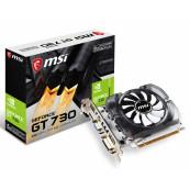 Placa Video Noua MSI GeForce GT 730, 4GB GDDR3 128Bit, VGA, DVI, HDMI, PCI Express 2.0, High Profile Componente Calculator