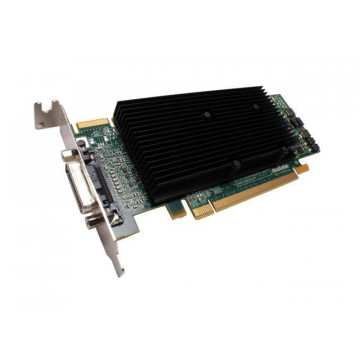 Placa video Matrox M9120-E512LPUF, 512MB GDDR2, 64 Bit, Low Profile + Cablu DMS-59 cu doua iesiri VGA, Second Hand Componente Calculator