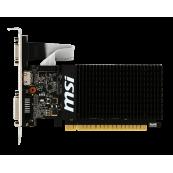 Placa video MSI GeForce GT 710, 2GB DDR3 64 Bit, HDMI, DVI, VGA, High Profile Componente Calculator