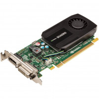 Placa video Nvidia Quadro K600, 1GB GDDR3, 128 bit, DVI, Display Port, Low Profile