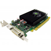 Placa video Nvidia Quadro NVS 315, 1GB DDR3, 64-bit, Low Profile + Cablu DMS-59 cu doua iesiri VGA, Second Hand Componente Calculator